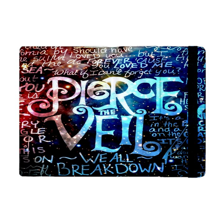 Pierce The Veil Quote Galaxy Nebula Apple iPad Mini Flip Case