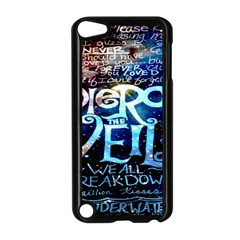 Pierce The Veil Quote Galaxy Nebula Apple iPod Touch 5 Case (Black)
