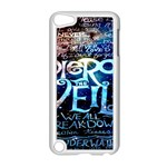 Pierce The Veil Quote Galaxy Nebula Apple iPod Touch 5 Case (White) Front