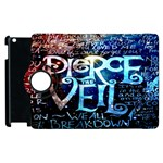 Pierce The Veil Quote Galaxy Nebula Apple iPad 3/4 Flip 360 Case Front