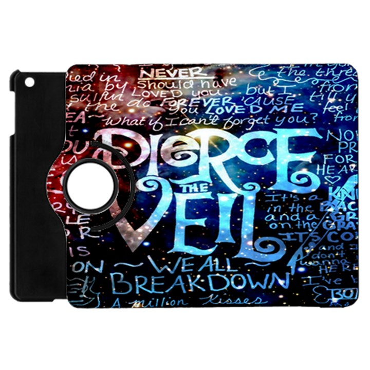 Pierce The Veil Quote Galaxy Nebula Apple iPad Mini Flip 360 Case