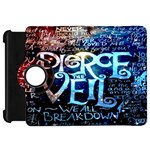 Pierce The Veil Quote Galaxy Nebula Kindle Fire HD Flip 360 Case Front