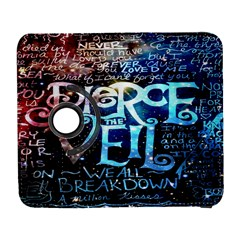 Pierce The Veil Quote Galaxy Nebula Samsung Galaxy S  III Flip 360 Case