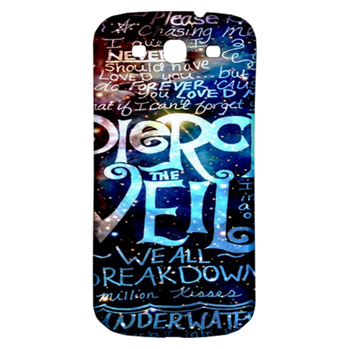 Pierce The Veil Quote Galaxy Nebula Samsung Galaxy S3 S III Classic Hardshell Back Case