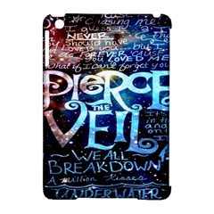 Pierce The Veil Quote Galaxy Nebula Apple iPad Mini Hardshell Case (Compatible with Smart Cover)
