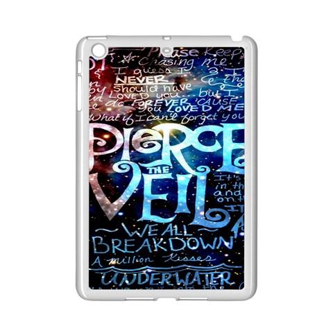 Pierce The Veil Quote Galaxy Nebula iPad Mini 2 Enamel Coated Cases