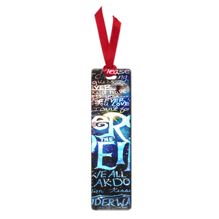 Pierce The Veil Quote Galaxy Nebula Small Book Marks