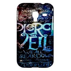 Pierce The Veil Quote Galaxy Nebula Samsung Galaxy Ace Plus S7500 Hardshell Case