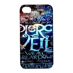 Pierce The Veil Quote Galaxy Nebula Apple Iphone 4/4s Hardshell Case With Stand