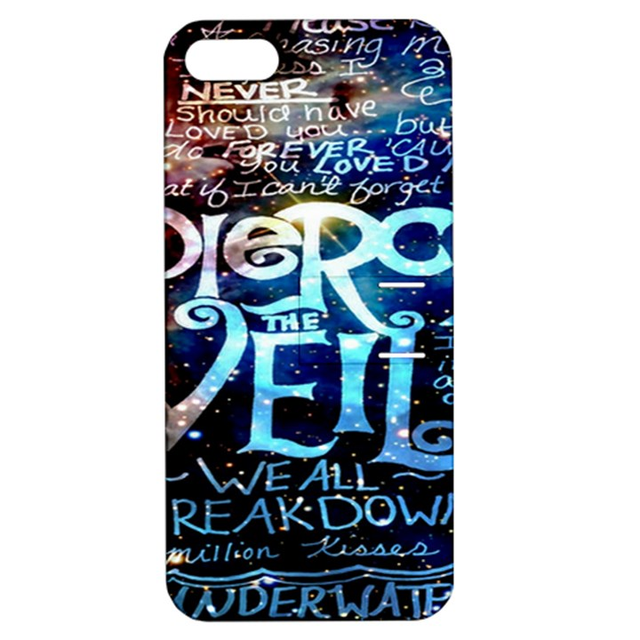 Pierce The Veil Quote Galaxy Nebula Apple iPhone 5 Hardshell Case with Stand
