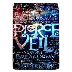 Pierce The Veil Quote Galaxy Nebula Flap Covers (L)