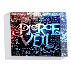 Pierce The Veil Quote Galaxy Nebula 5 x 7  Acrylic Photo Blocks