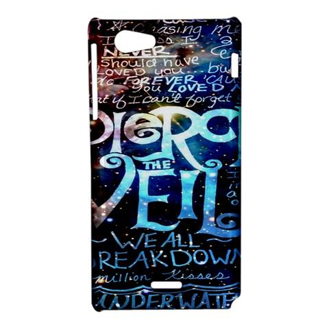Pierce The Veil Quote Galaxy Nebula Sony Xperia J