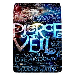 Pierce The Veil Quote Galaxy Nebula Flap Covers (S)