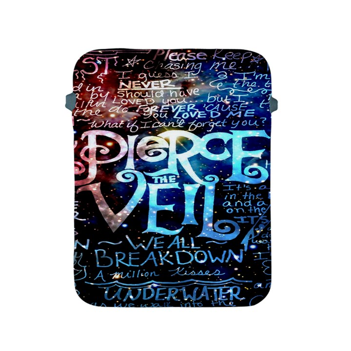 Pierce The Veil Quote Galaxy Nebula Apple iPad 2/3/4 Protective Soft Cases