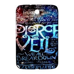 Pierce The Veil Quote Galaxy Nebula Samsung Galaxy Note 8 0 N5100 Hardshell Case