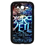 Pierce The Veil Quote Galaxy Nebula Samsung Galaxy Grand DUOS I9082 Case (Black) Front