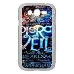 Pierce The Veil Quote Galaxy Nebula Samsung Galaxy Grand DUOS I9082 Case (White) Front