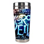 Pierce The Veil Quote Galaxy Nebula Stainless Steel Travel Tumblers Center