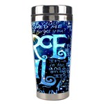 Pierce The Veil Quote Galaxy Nebula Stainless Steel Travel Tumblers Right