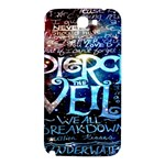 Pierce The Veil Quote Galaxy Nebula Samsung Note 2 N7100 Hardshell Back Case Front