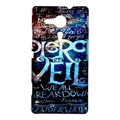 Pierce The Veil Quote Galaxy Nebula Sony Xperia SP