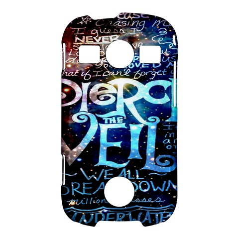 Pierce The Veil Quote Galaxy Nebula Samsung Galaxy S7710 Xcover 2 Hardshell Case