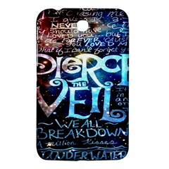Pierce The Veil Quote Galaxy Nebula Samsung Galaxy Tab 3 (7 ) P3200 Hardshell Case