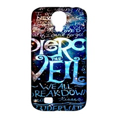 Pierce The Veil Quote Galaxy Nebula Samsung Galaxy S4 Classic Hardshell Case (pc+silicone)
