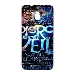 Pierce The Veil Quote Galaxy Nebula HTC One Mini (601e) M4 Hardshell Case
