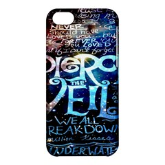 Pierce The Veil Quote Galaxy Nebula Apple Iphone 5c Hardshell Case