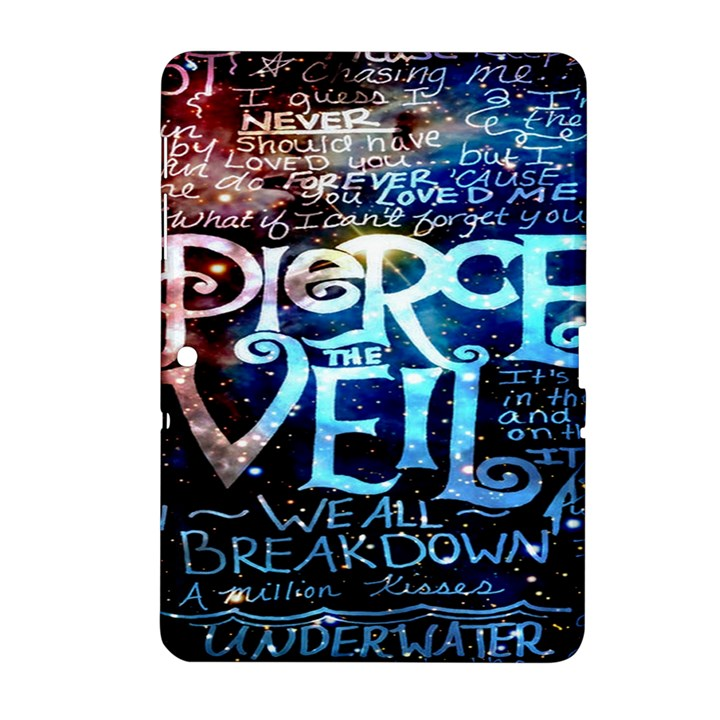 Pierce The Veil Quote Galaxy Nebula Samsung Galaxy Tab 2 (10.1 ) P5100 Hardshell Case
