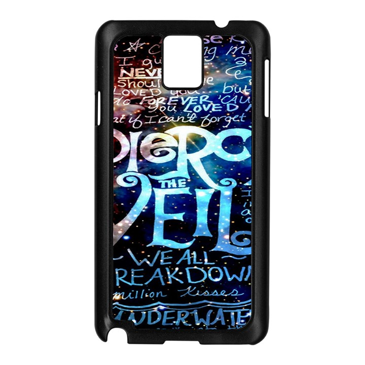 Pierce The Veil Quote Galaxy Nebula Samsung Galaxy Note 3 N9005 Case (Black)