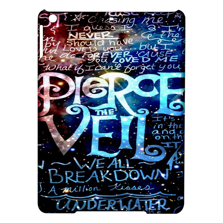 Pierce The Veil Quote Galaxy Nebula iPad Air Hardshell Cases