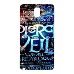 Pierce The Veil Quote Galaxy Nebula Samsung Galaxy Note 3 N9005 Hardshell Back Case Front