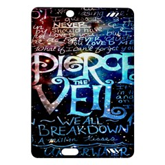 Pierce The Veil Quote Galaxy Nebula Amazon Kindle Fire HD (2013) Hardshell Case