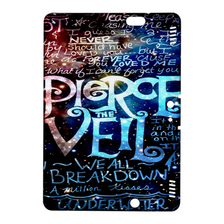 Pierce The Veil Quote Galaxy Nebula Kindle Fire HDX 8.9  Hardshell Case