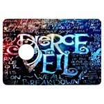 Pierce The Veil Quote Galaxy Nebula Kindle Fire HDX Flip 360 Case Front