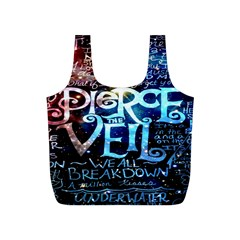 Pierce The Veil Quote Galaxy Nebula Full Print Recycle Bags (s)