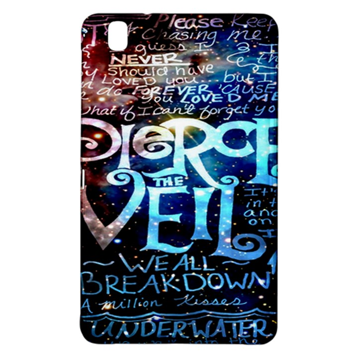 Pierce The Veil Quote Galaxy Nebula Samsung Galaxy Tab Pro 8.4 Hardshell Case