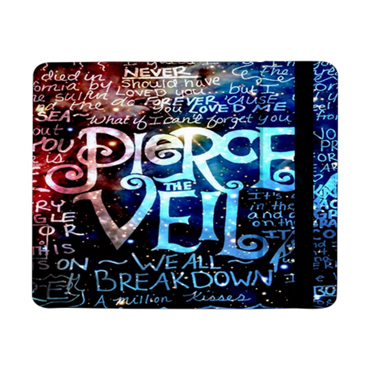 Pierce The Veil Quote Galaxy Nebula Samsung Galaxy Tab Pro 8.4  Flip Case