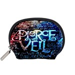 Pierce The Veil Quote Galaxy Nebula Accessory Pouches (Small)  Front