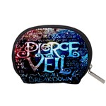 Pierce The Veil Quote Galaxy Nebula Accessory Pouches (Small)  Back