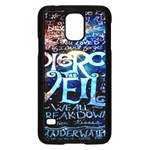 Pierce The Veil Quote Galaxy Nebula Samsung Galaxy S5 Case (Black) Front