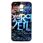 Pierce The Veil Quote Galaxy Nebula Samsung Galaxy S5 Back Case (White) Front