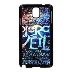 Pierce The Veil Quote Galaxy Nebula Samsung Galaxy Note 3 Neo Hardshell Case (Black)