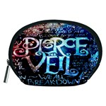 Pierce The Veil Quote Galaxy Nebula Accessory Pouches (Medium)  Front