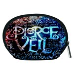 Pierce The Veil Quote Galaxy Nebula Accessory Pouches (Medium)  Back