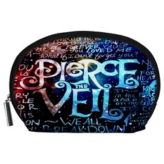 Pierce The Veil Quote Galaxy Nebula Accessory Pouches (Large)