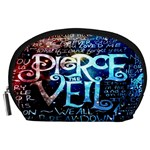 Pierce The Veil Quote Galaxy Nebula Accessory Pouches (Large)  Front